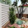 Pose clôture de jardin en aluminium