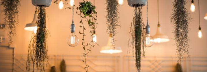 lampe design intérieur