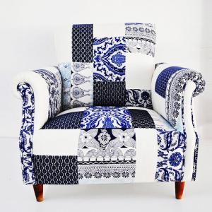 fauteuil bleu majorelle