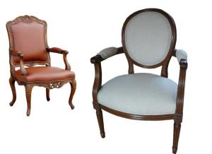bien choisir ses fauteuils anciens pour le salon d co facile. Black Bedroom Furniture Sets. Home Design Ideas