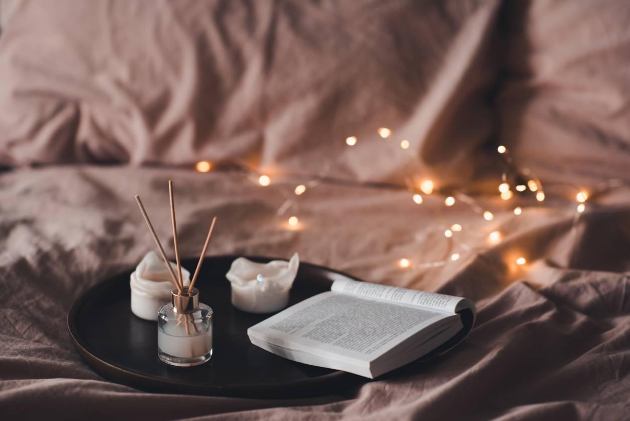Atmosphère relaxante chambre