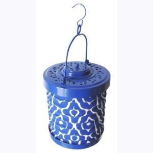 lampion bleu majorelle jardin