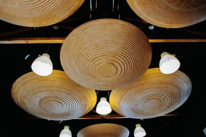 Luminaires en bois