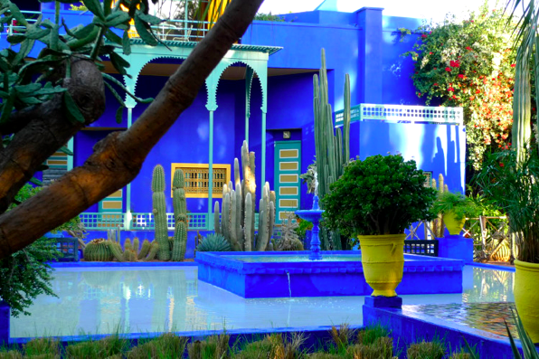 Le Bleu Majorelle En Decoration Deco Facile