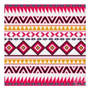 mode motif aztèque
