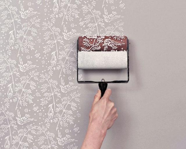 utilisez la peinture pour une d coration murale originale. Black Bedroom Furniture Sets. Home Design Ideas